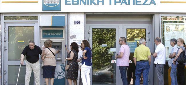 Yunanistanda bankalar 20 Temmuzda açılıyor
