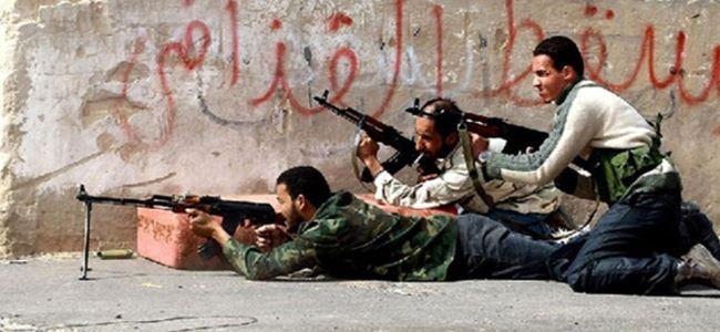 Libyada silahlı çatışma; 3 ÖLÜ