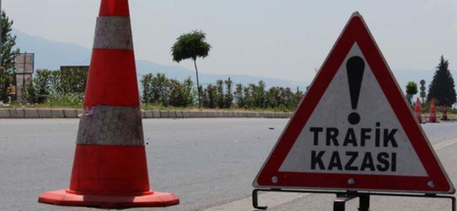 Karakum'da feci kaza