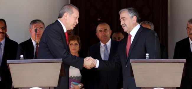 Akıncı ve Erdoğan ortak basın toplantısı düzenledi