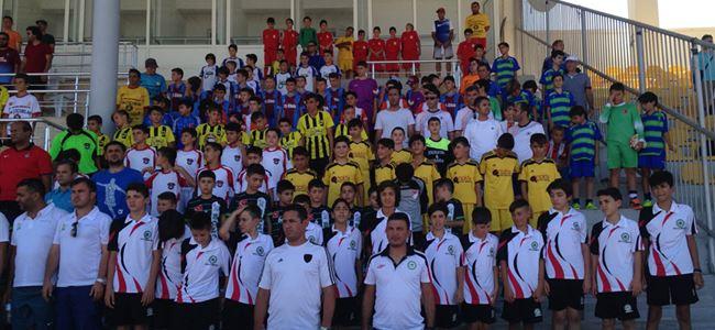 500 çocuk futbol oynayacak