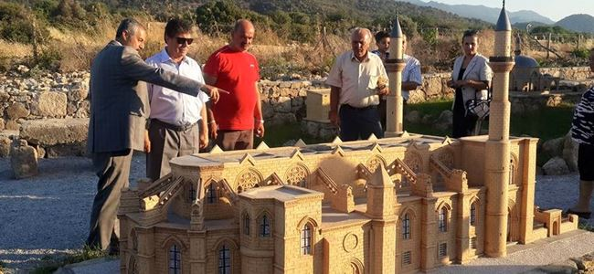 """""""Minia Kıbrıs Müzesi"""" Tatlısu'da açıldı"""