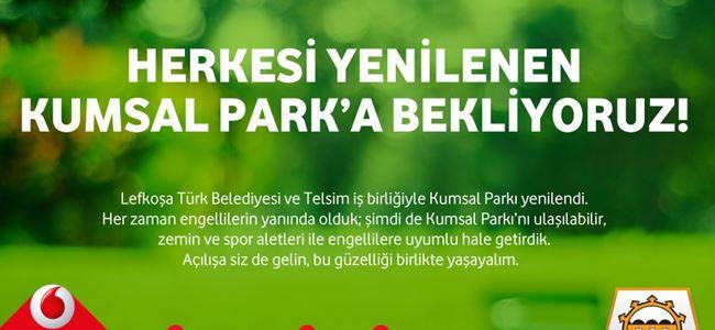 Kumsal Parkı 30 Temmuz'da açılıyor