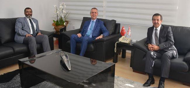 Telsim yetkilileri Ertuğruloğlu'nu ziyaret etti