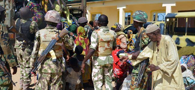Boko Haramın esir tuttuğu 178 kişi kurtarıldı