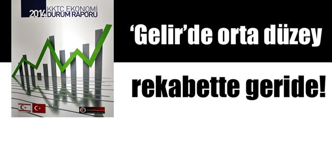"""""""2014 KKTC Ekonomi Durum Raporu açıklandı"""