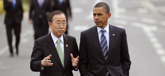 Obama, Ban ile görüştü