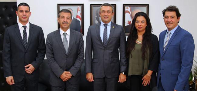 Ertuğruloğlu, Turkcell ekibini kabul etti