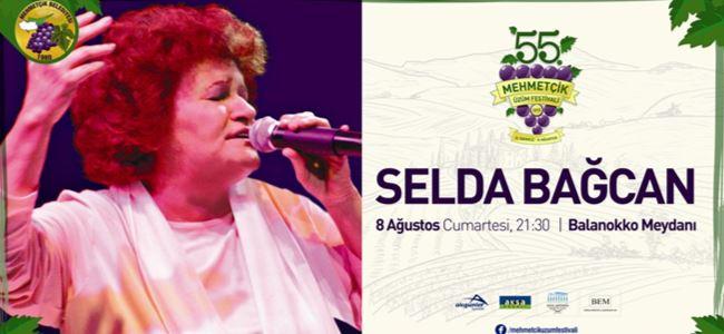 Üzüm Festivali'nde yarın Selda Bağcan var