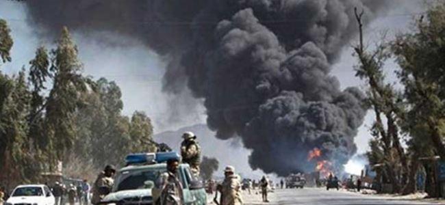 Afganistan'da intihar saldırısı; 22 ÖLÜ