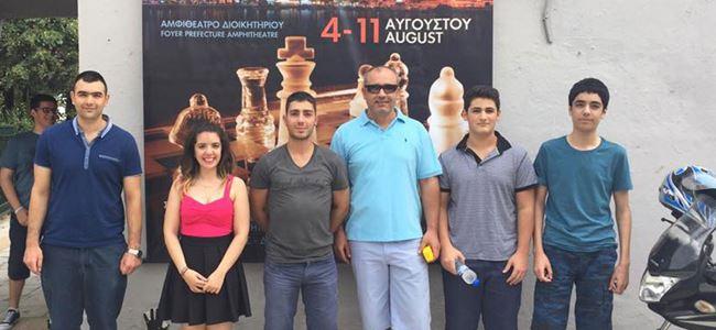 Satranççılar Yunanistan'da yarışıyor