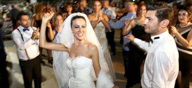 Muhteşem bir düğün…