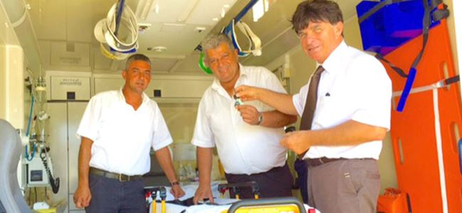 Ambulans 3 yıl sonra görevde