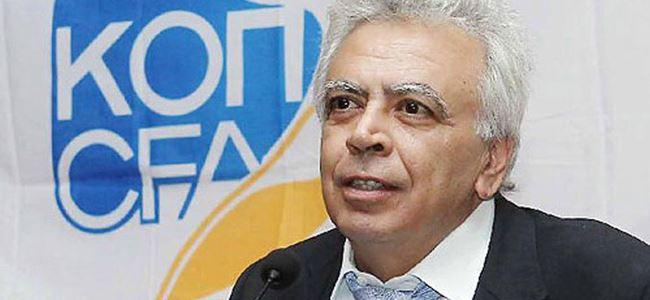 Koutsokoumnis yeniden başkan