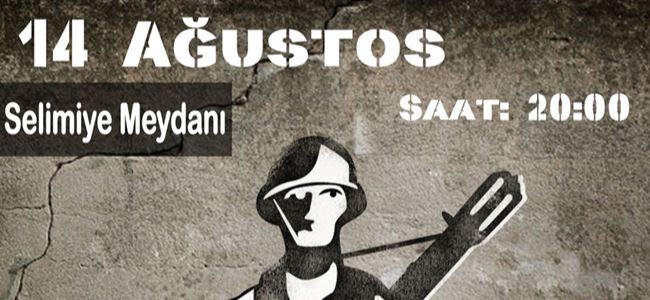 Anti-Militarist Barış Harekâtı, 14 Ağustos'ta 6. kez gerçekleşiyor