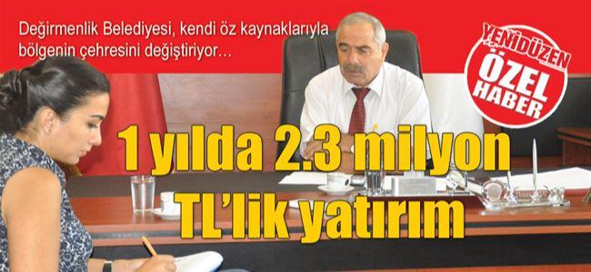 ÖZ KAYNAKTAN 1 yılda 2.3 milyon TL'lik yatırım