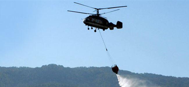 KTAMS, yangın helikopteri hakkında bilgi talep etti