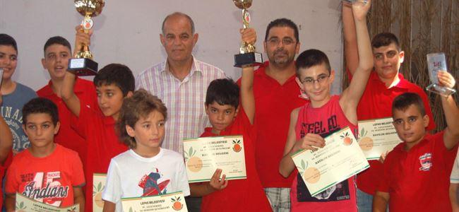 Lefke Şenlikleri satranç turnuvası yapıldı