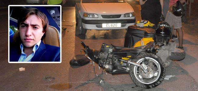 Mağusa'da feci kaza