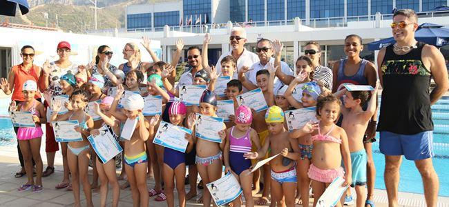 GAÜ yüzme kursları tamamlandı