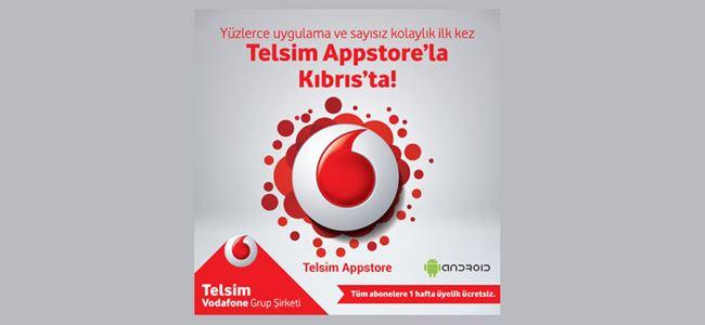 'Telsim Appstore' kullanıcıların hizmetinde