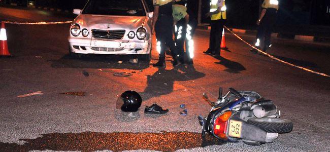 Mağusa'da 3 saat arayla ikinci motosiklet kazası