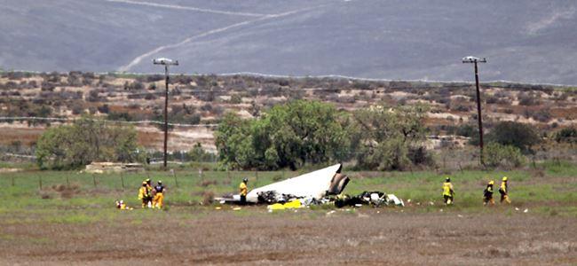 İki uçak havada çarpıştı, 4 kişi öldü