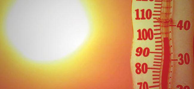Sıcaklık 42 derece