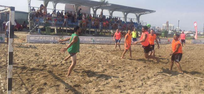 Plaj hentbolu başladı