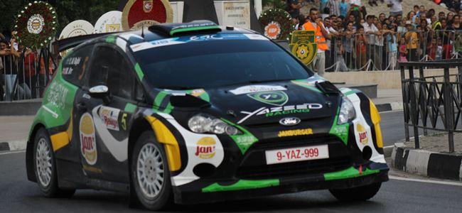 ERC Kıbrıs Rallisi'nin etapları açıklandı