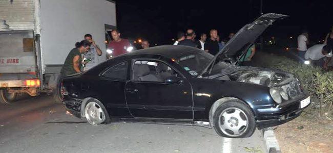 Yanlış şeride girdi kazaya neden oldu
