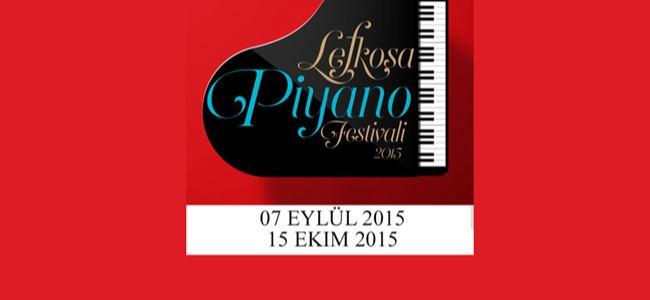 """""""Lefkoşa Piyano Festivali"""" başlıyor"""