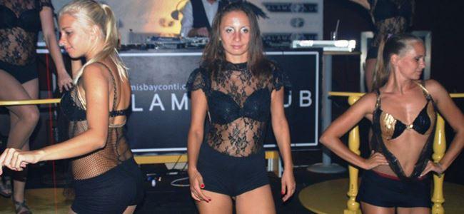 Salamis'te Club'ta festival eğlencesi