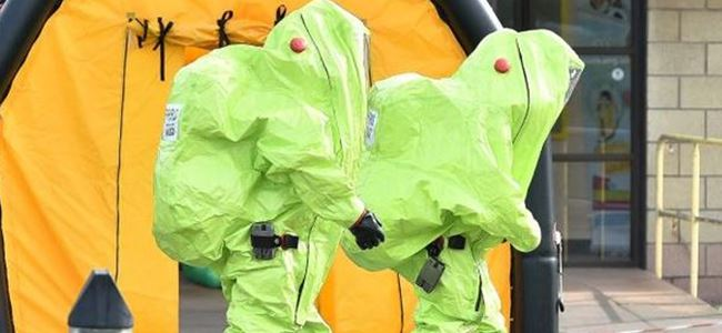 Kimyasal sızıntı,  5i çocuk 19 kişi hastaneye kaldırıldı.