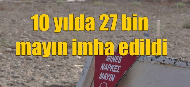 """MAYINLI 28 BÖLGEDEN 25'İ TEMİZLENDİ"""