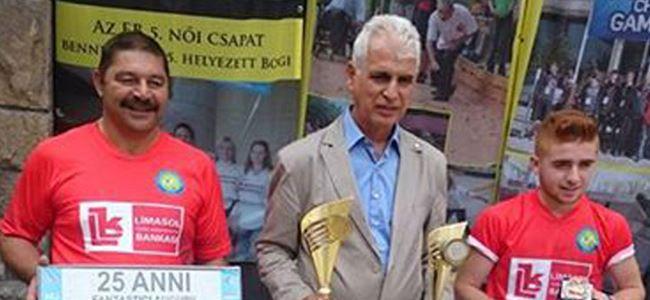 Bocce'de Macaristan'da başarı