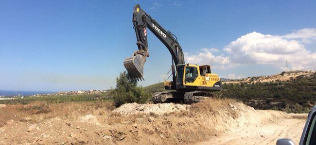 Girne'de çevre tahribatı