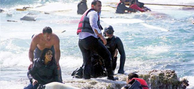 Libyada yasa dışı göçe karşı eylem