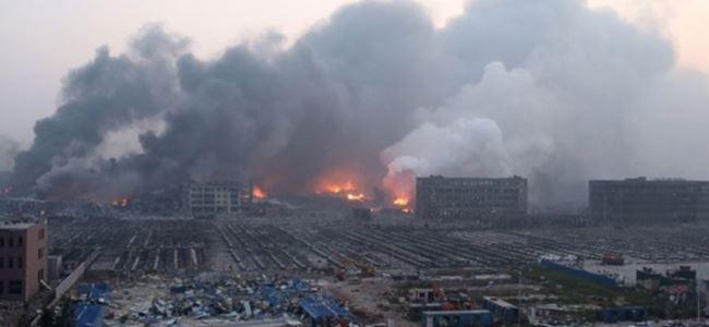 Çinde 7 işçi, gazdan zehirlenerek öldü