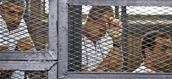 Muhabirler hapis cezasına çarptırıldı