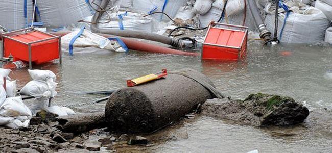 Almanyada 2 tonluk bomba bulundu