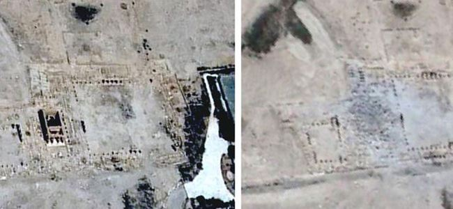 IŞİD, Palmira Antik Kentin görüntülerini paylaştı