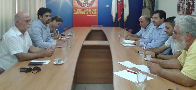 CTP ve AKEL'den Barış Günü'nde ortak toplantı
