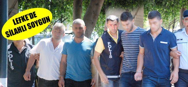 'Silahlı Soygun' zanlıları TEMİNATLA SERBEST!