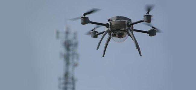 Havada 'drone' paniği