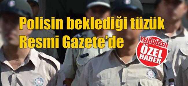 Poliste 'nakillerin dönemi' değiştirildi