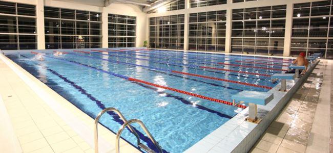 UKÜ yüzme takımı için seçme yapıyor
