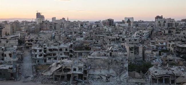 Suriye'de Doğu Guta ve Cobar afet bölgesi ilan edildi