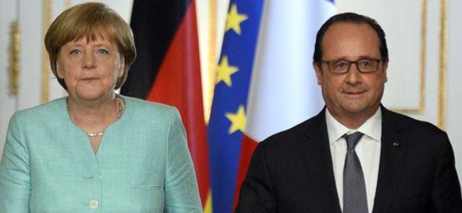 Merkel ve Hollande'dan göçmen krizine yönelik öneri
