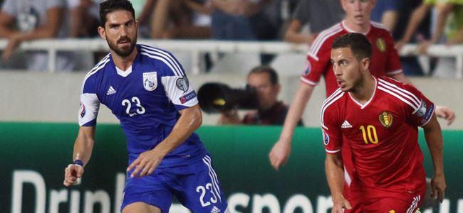 Kıbrıs'tan puanları Hazard aldı